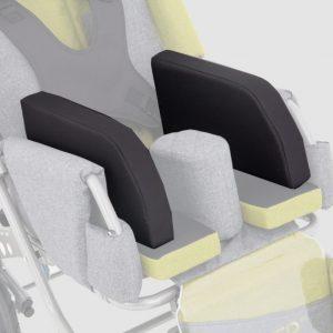 Подушки сужающие сидение шир. 10 см для коляски Akcesmed Рейсер, Рейсер+