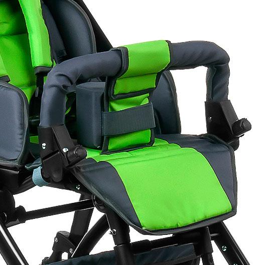 Барьер-поручень для коляски JUNIOR подойдет для коляски нового типа. В комплекте 1 шт.