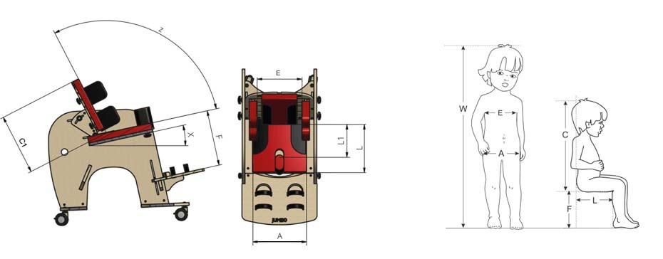 Подбор размера кресла Слоненок