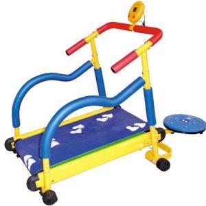 Детский тренажер беговая дорожка Kids Treadmill с твистером LEM-KTM002